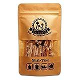 PilzWald Shiitake Pilze züchten - 25 Pilzdübel - Pilzzucht auf Holz, Einmachglas & Blumentopf - Pilzbrut