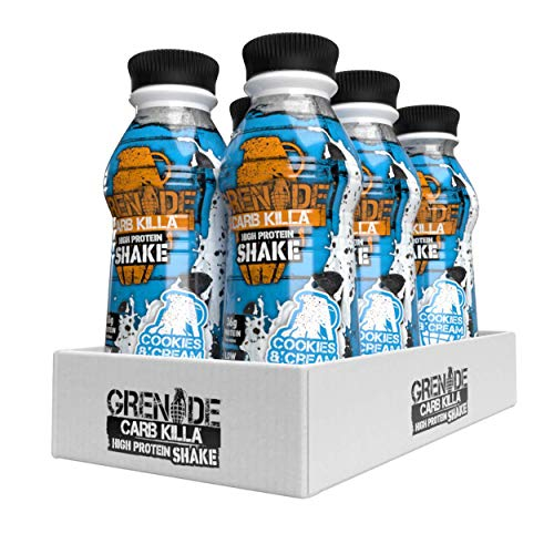 Grenade Carb Killa Cookies and Cream High Protein Shake, 6 x 500 ml