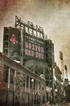 Boston Red Sox Poster - Fenway Park Vintage Print - Red Sox Art