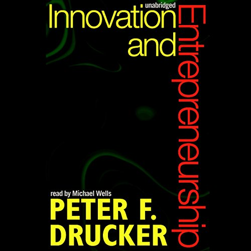 Innovation and Entrepreneurship audiobook cover art