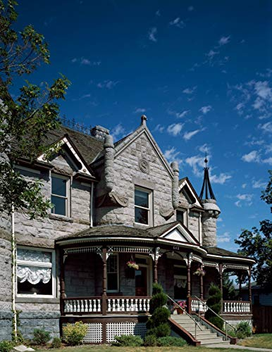 Vintography 24 x 36 Giclee Print ofHistoric House in Portabello Idaho n30 1993 Highsmith