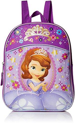 Disney Sofia The First Mochila en miniatura para niñas, Púrpura claro/morado. (Morado) - FSCM05ZA