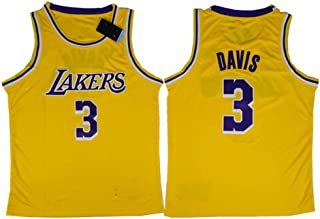 Nba Basketball Jersey, Men's Outdoor Game Training Suit, Lakers Embroidered Jersey