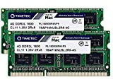 Timetec Hynix IC 8GB KIT(2x4GB) Compatible for Apple DDR3L 1600MHz PC3L-12800 for Early/Mid/Late 2011, Mid/Late 2012, Early/Late 2013, Late 2014, Late 2015 MacBook Pro, iMac, Mac Mini (8GB KIT(2x4GB))