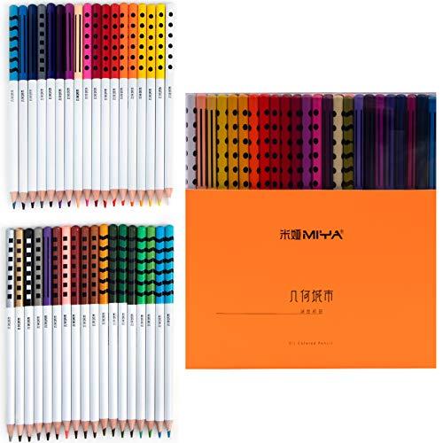 HIMI 色鉛筆 油性 36色セット いろえんぴつ カラーペン オイル色鉛筆 大人の塗り絵 子供 小学生 初心者 専門家 学習教材 学校教材 落書き 手帳 ノード