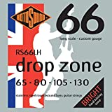 Rotosound RS66LH Swing Bass 66 Stainless Steel Bass Guitar Strings (65 80 105 130)