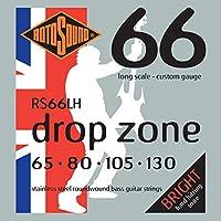 ROTOSOUND RS66LH Drop Zone エレキベース弦