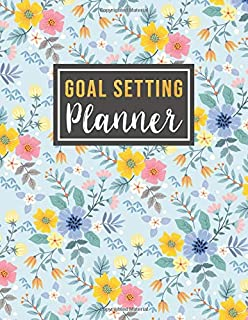 Goal Setting Planner: goal focused planner 2020 | Goal Getter Weekly with Short Term Goal and Long Term Goal with 2 year m...