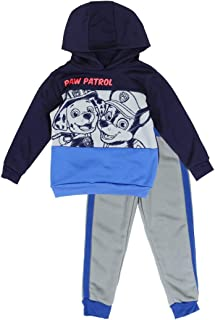 Nick Jr Little Boys' Toddler Paw Patrol Pullover Hoodie and Pants Set