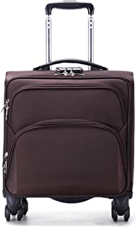 Trolley Case 18 inch Business Trolley Case with Laptop Compartment Hand Luggage Suitcase, Approved for Ryanair, Easyjet, British Airways, Virgin Atlantic,Flybe and Many More. Travel Luggage Carry-Ons
