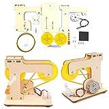 0Miaxudh - Kit de juguetes para hacer bricolaje (incluye manual de montaje para la generación de electricidad, experimento físico, juguete pedagógico)