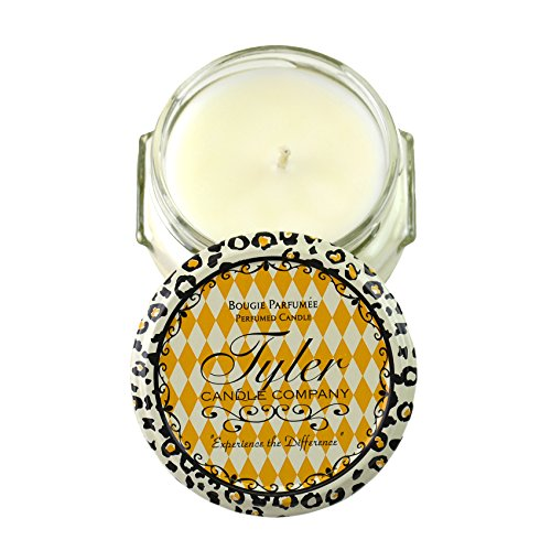 Tyler Glass Fragrane Candle 3.4 Oz,Diva