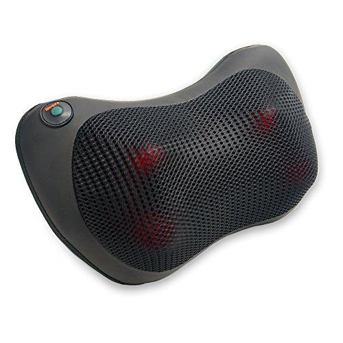 Sprago Shiatsu Schnurlose Batterie Massagegeräte Massagekissen Kneten mit Infrarot Heizung Massager für Hals Nacken Zurück Rücken Hüften Auto sitz Schmerzlinderung