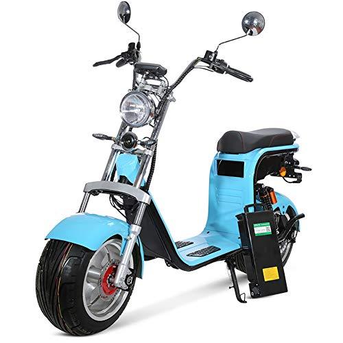 L&F Aleación de Aluminio de la Rueda de Harley CEE COC Harley Harley Coche eléctrico Citycoco Harley Coche eléctrico,12AH