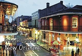 French Quarter, New Orleans, Louisiana, Mardi Gras, Souvenir Magnet 2 x 3 Fridge Photo Magnet