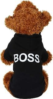 Fossrn Ropa Perro, Mascota Perrito Boss Patrones Impresos