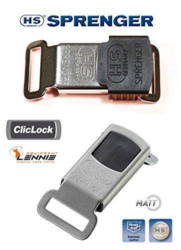 ClicLock, roestvrij staal mat HS Sprenger