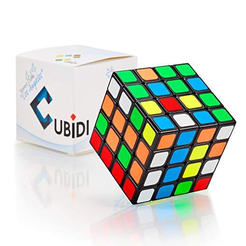 CUBIDI® - Zauberwürfel 4x4 - Typ Los Angeles - Speed-Cube mit optimierten Dreheigenschaften - Magic Cube für Anfänger und Fortgeschrittene (mit Sticker)
