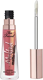 TOO FACED Melted Matte-Tallic Liquified Lipstick (Our Lips Are Sealed)