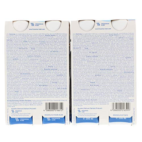 Fresubin energy DRINK, 6X4X200 ml , Mischkarton