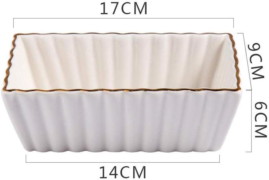XINGZHE Cuisson Plateau, Plateau de Cuisson en céramique spécial for Le Four, la Cuisson antiadhésif Plateau, Cuisine Outils de Cuisine, 2 Styles Outils Cuisson (Color : B) A