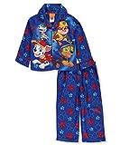 Paw Patrol Little Boys Toddler Long Sleeve Pajama Top 2pc Set, Blue 2T
