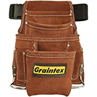 Graintex 10-Pocket Nail & Tool Pouch with 2