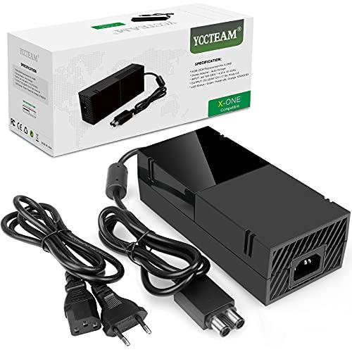 Cavo di alimentazione per Xbox One, kit di ricambio per Xbox One, tensione 100 – 240 V, nero