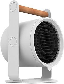 Heater-JXW Calefactor Eléctrico Ventilador,Calentador De Ventilador De Cerámica con 3 Configuraciones De Calor Hogar, La Oficina Y El Escritorio