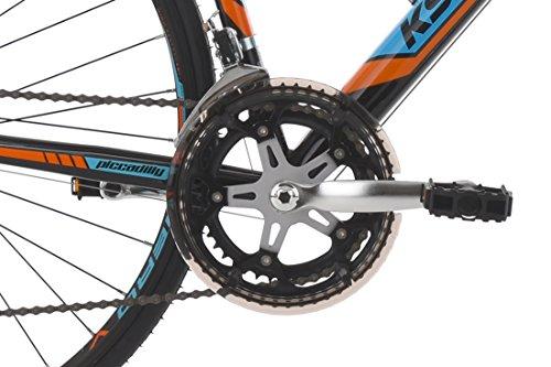KS Cycling Rennrad 28'' Piccadilly schwarz-orange-blau RH59cm - 3