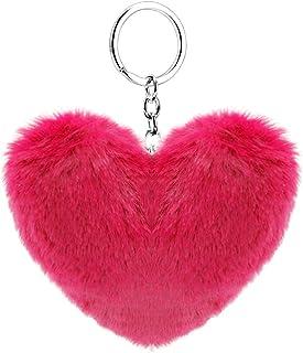llavero en forma de corazon suave