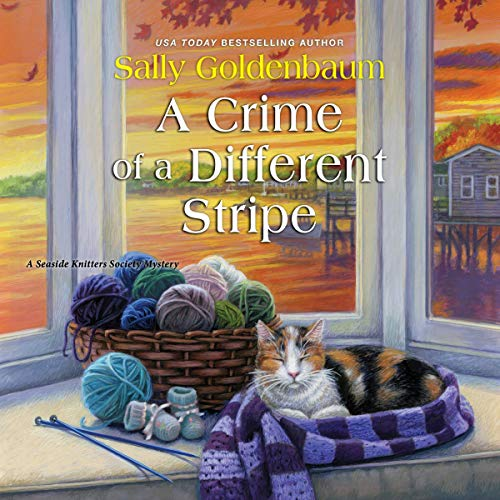 A Crime of a Different Stripe: Seaside Knitters Society, Book 4
