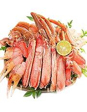 特選 生 ずわい蟹 贅沢な甘み 盛り合わせ 1kg ( 1.25kg ) セット / かに鍋 しゃぶしゃぶ かに刺し / 大ぶり ずわいがに お刺身 蟹 カニ鍋 船内で 瞬間冷凍 ズワイガニ 蟹鍋 お歳暮 お中元 父の日 母の日