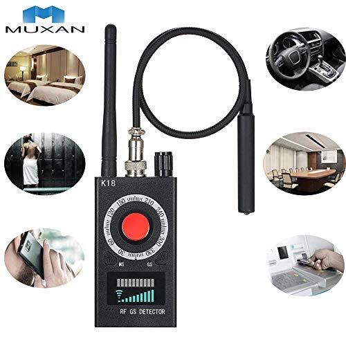 Hangang cámara Anti espía, Detector de Bug de señal RF, Detector de señal láser de pinhole inalámbrico, Detector láser, Sensor Ultra-Alto Tracker de detección Completa