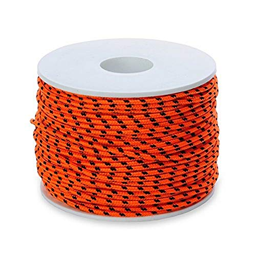 Best divers Leine Dyneema, SK75, Ø2.0 mm, Spule 50 m, Orange