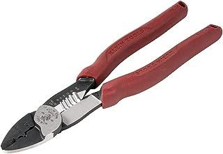 Klein Tools 2005N Wire Crimper Cutting Tool, Forged Steel, Heavy Duty Wire Stripper