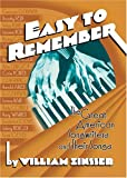 "book jacket: ""Easy To Remember"" by William Zinsser"