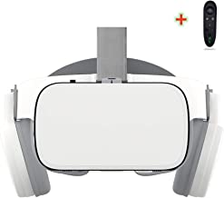 VR Headset Compatible with iPhone and Android Phones,3D Glasses Virtual Reality With Wireless Bluetooth Earphone ,VR goggl...