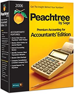 Peachtree Premium Accounting Accountants' Edition 2006