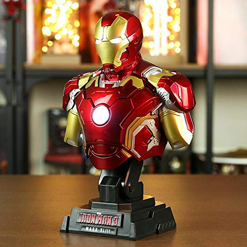 Marvel Iron Man Vinilo Medio Busto Estatua MK43MK42MK7
