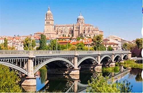 ZZXSY Puzzle 1000 Piezas La Catedral De Salamanca Es Una Catedral Gótica Y Barroca Tardía En La Ciudad De Salamanca Castilla Se Puede Usar como Regalo De Cumpleaños