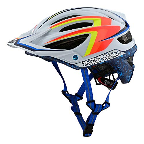Troy Lee Designs Adult | Limited Edition | Trail | Cycling | Mountain Bike A2 MIPS Screaming Eagle Helmet (White, XL/XXL)