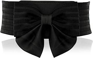 حزام خصر مرن واسع على شكل قوس لطيف للنساء من YALEMEI - إكسسوار فستان رائع