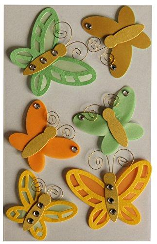 BSB-Obpacher GmbH Creativ Sticker Schmetterlinge