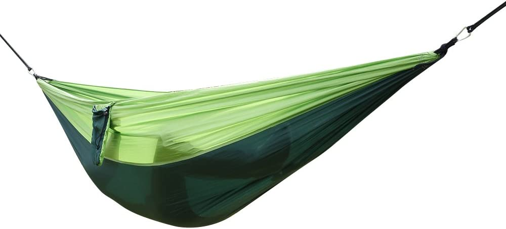 Outdoor Portable famous Nylon Hammock Ultra-Cheap Deals Bed Camping Hanging with