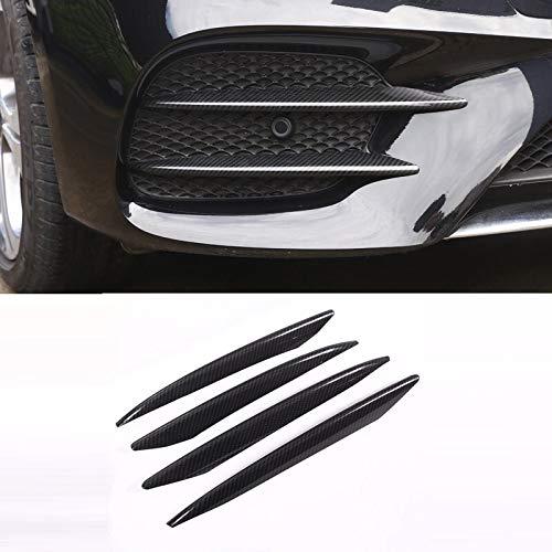 FFZ Parts Nebelscheinwerfer Lufteinlässe Blende Abdeckung Carbon Optik Passend Für E Klasse W213 T Model S213 AMG E43 E63