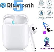 Bluetooth 5.0 Wireless Earphone in-Ear Earbuds Hi-Fi...
