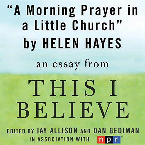 A Morning Prayer in a Little Church audiobook cover art