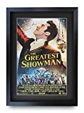 HWC Trading The Greatest Showman A3 Gerahmte Signiert