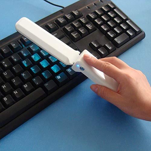 YChoice365 Tragbare UV-keimtötende Lampe, USB-Aufladungs-UV-Lichtstab-Desinfektionsmittel, Faltbare UV-Desinfektions-Keimtötungslampe für die Desinfektion von Hotelreisen